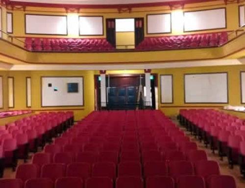 Reinaguración del Cine Teatro Español con butacas Fénix